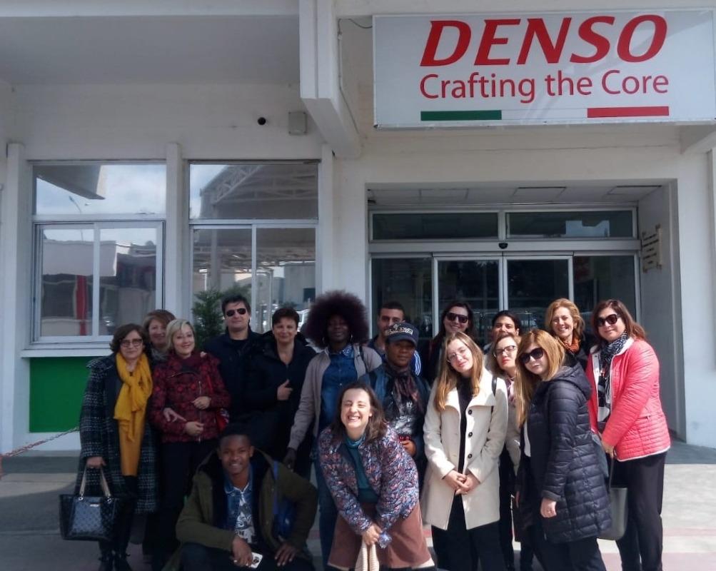 """Visita aziendale """"DENSO Manufacturing Italia S.p.A."""" - Aprile 2019"""